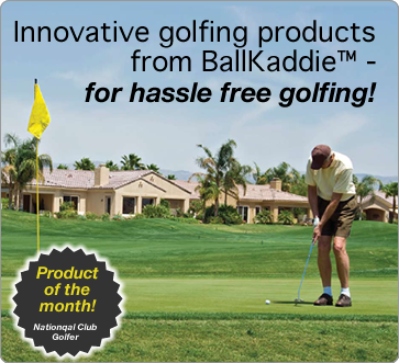 Innovative golfing products from BallKaddie™ - for hassle free golfing!